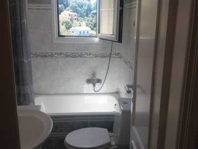 horizon apartments corfu-studio bathroom