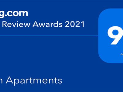 Horizon Apartments Corfu award