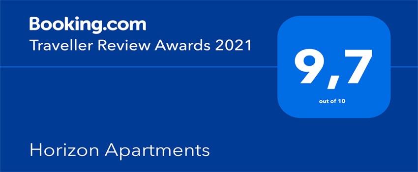 Horizon Apartments Corfu award